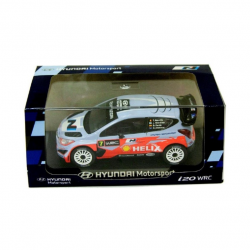 Miniature HYUNDAI MOTORSPORT I20 WRC n°7 1/38ème - Rallye