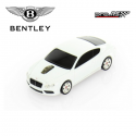 Souris d'ordinateur optique sans fil BENTLEY MOTORSPORT Continental GT V8 blanche