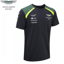 T-shirt ASTON MARTIN Team bleu pour homme - Endurance