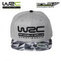 Casquette WRC Camo visière plate grise