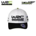 Casquette WRC Logo visière courbée blanche