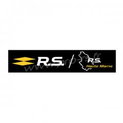 Cache plaque Akrapovic & Nurburgring