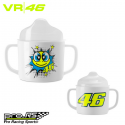 Lot de 2 tétines VALENTINO ROSSI pop art