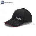 Casquette VOLKSWAGEN GTI Baseball noire - Sportswear