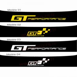 Bandeau pare soleil GT Performance