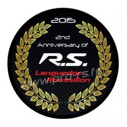 Sticker RS Languedoc Roussillon Anniversaire Club 2ans