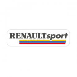 Autocollant transparent Peugeot Sport 2016