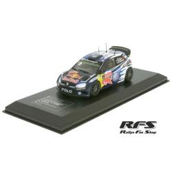 Miniature Vw polo r wrc-Ogier/Ingrassia-rallye monte carlo 2015 1/43
