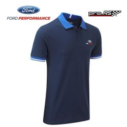Polo FORD Team Travel bleu pour homme - Endurance