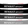 Bandeau pare soleil Renault Sport A