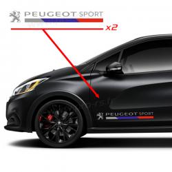 Kit Stickers Peugeot Sport 2016 60cm