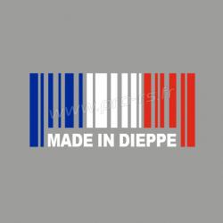 Sticker Made in Dieppe Renault Sport