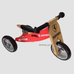 Draisienne en bois Ferrari