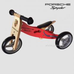 Draisienne en bois Porsche Spyder