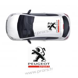 Stickers de toit Peugeot Sport A