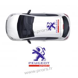 Stickers de toit Peugeot Sport B