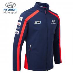 Softshell HYUNDAI MOTORSPORT Team bleu pour homme