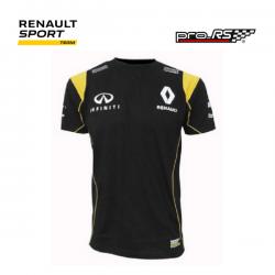 T-shirt RENAULT SPORT Team noir pour homme - Rallye