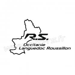 Sticker RS Occitanie Languedoc Roussillon