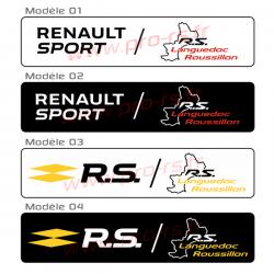 Cache plaque Renault LR new