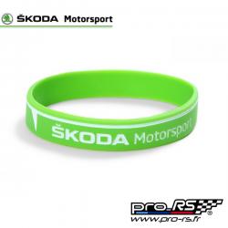 Bracelet Silicone Skoda Motorsport