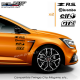 Kit 8 Stickers RS Losange PACK Renault Sport