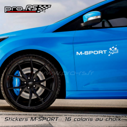 Sticker M-Sport Ford version long