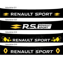 Bandeau pare soleil Renault Sport 2016 Type 4