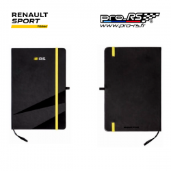 Bloc notes RENAULT SPORT RS Logo noir