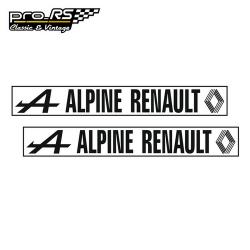Kit 2 Stickers Alpine Renault