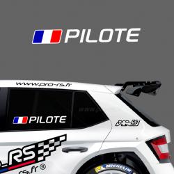 Kit Nom Pilote Copilote modèle 4