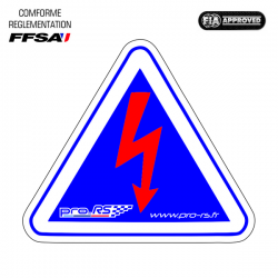 Autocollants Sécurité Coupe-Circuit