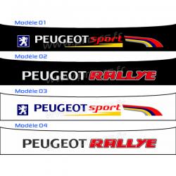 Bandeau pare soleil Peugeot Sport PTS