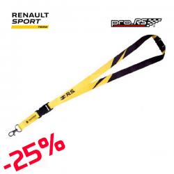 Tour de cou RENAULT SPORT F1 jaune - Formule 1