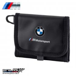 Portefeuille BMW MOTORSPORT blanc