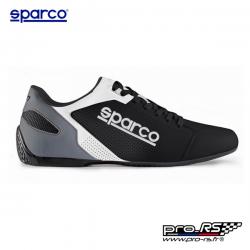 Chaussures en cuir SPARCO SL-17 noir pour homme