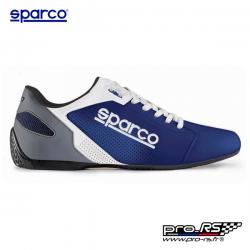 Chaussures en cuir SPARCO SL-17 bleu pour homme