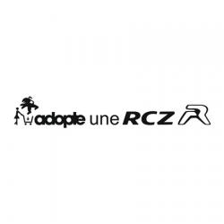 Sticker Adopte une RC