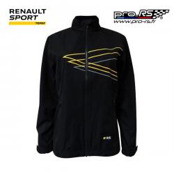 Veste coupe vent RENAULT SPORT RS Run noire pour homme