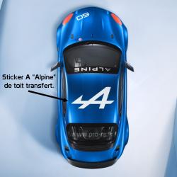 Stickers de toit Citroën DS3