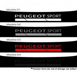 Bandeau pare soleil Peugeot Sport GTi