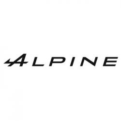 Sticker Alpine A Flèche