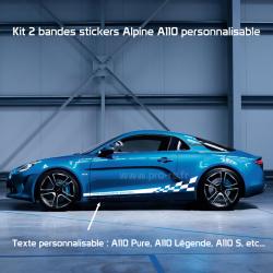Kit 2 Stickers Latéraux M3RS Performance Renault