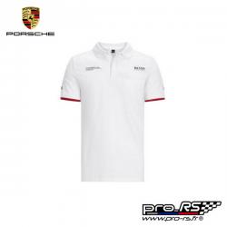 Polo PORSCHE Motorsport Team noir pour homme