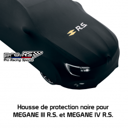 Housse de protection noire pour MEGANE III R.S. et MEGANE IV R.S. Renault Sport