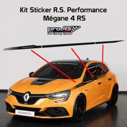 Kit 2 Stickers Latéraux RS Performance pour Mégane RS