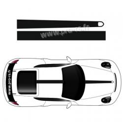 Kit stickers bandes Porsche