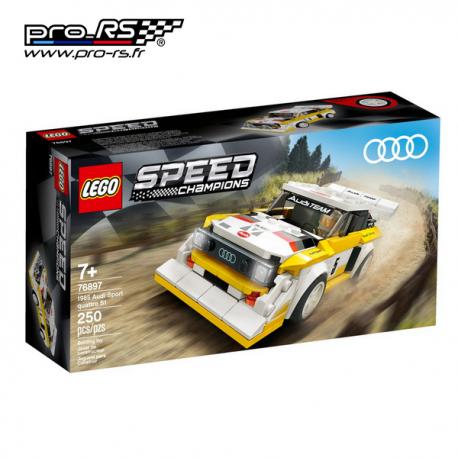 Jeu de construction LEGO Speed champions Audi Sport quattro S1