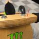 Draisienne en bois Monster Energy version expo