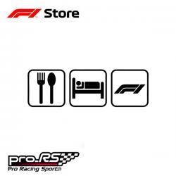 Sticker F1 Formula 1 Fan